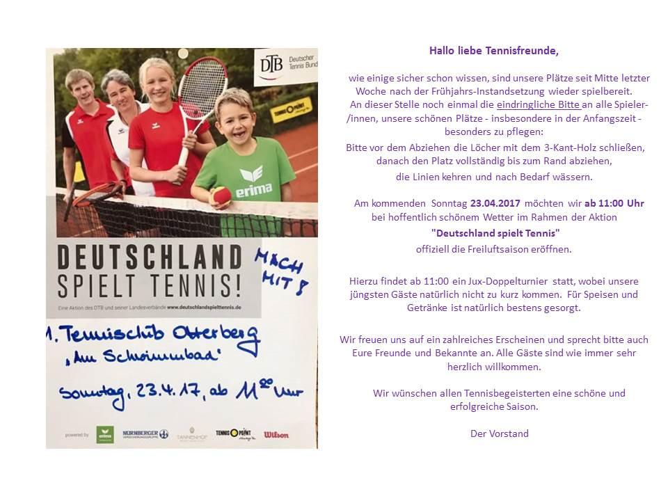 Einladung Deutschland spielt Tennis_2017